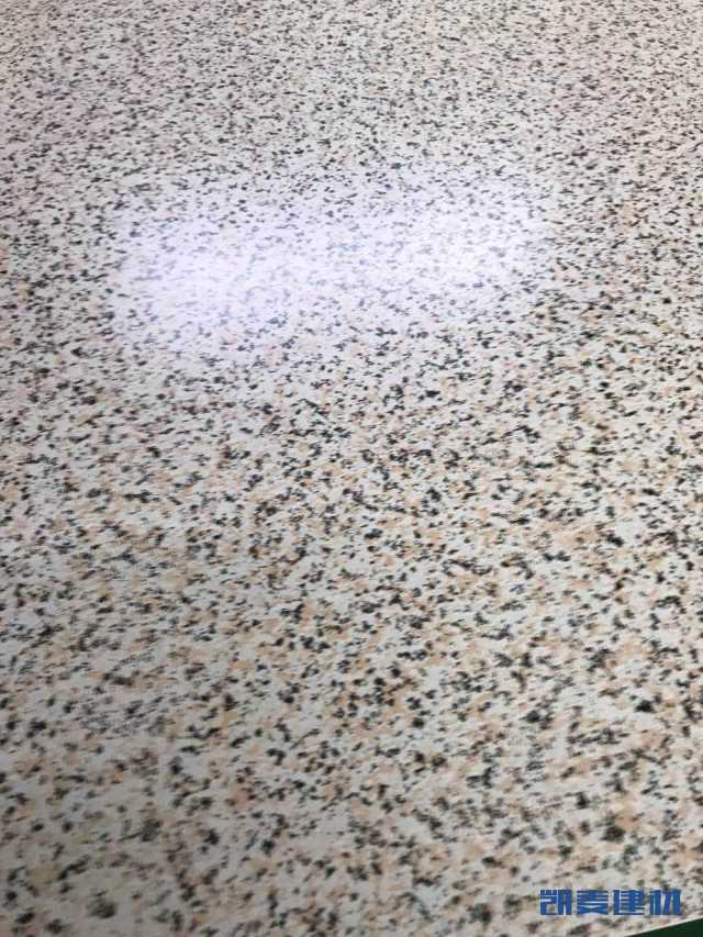 光面石纹铝单板表面细节
