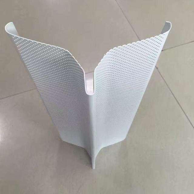特殊V形冲孔铝挂片