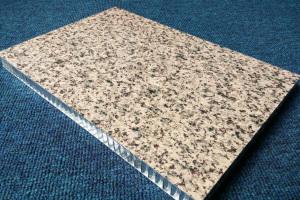 滚涂石纹铝蜂窝板