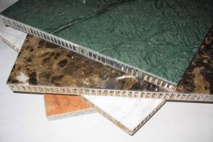 玄武岩纹理仿石纹铝蜂窝板