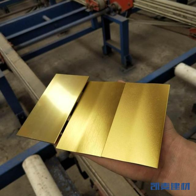 999金色氧化铝单板