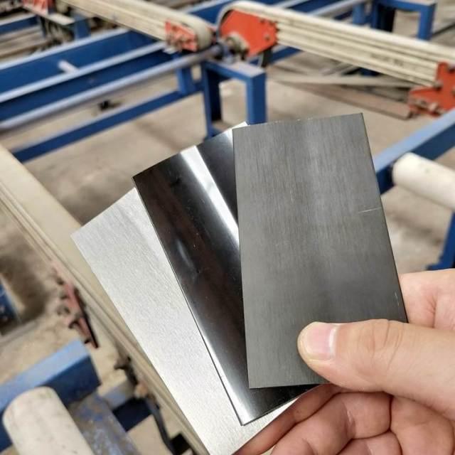 黑色灰色银色拉丝氧化铝板