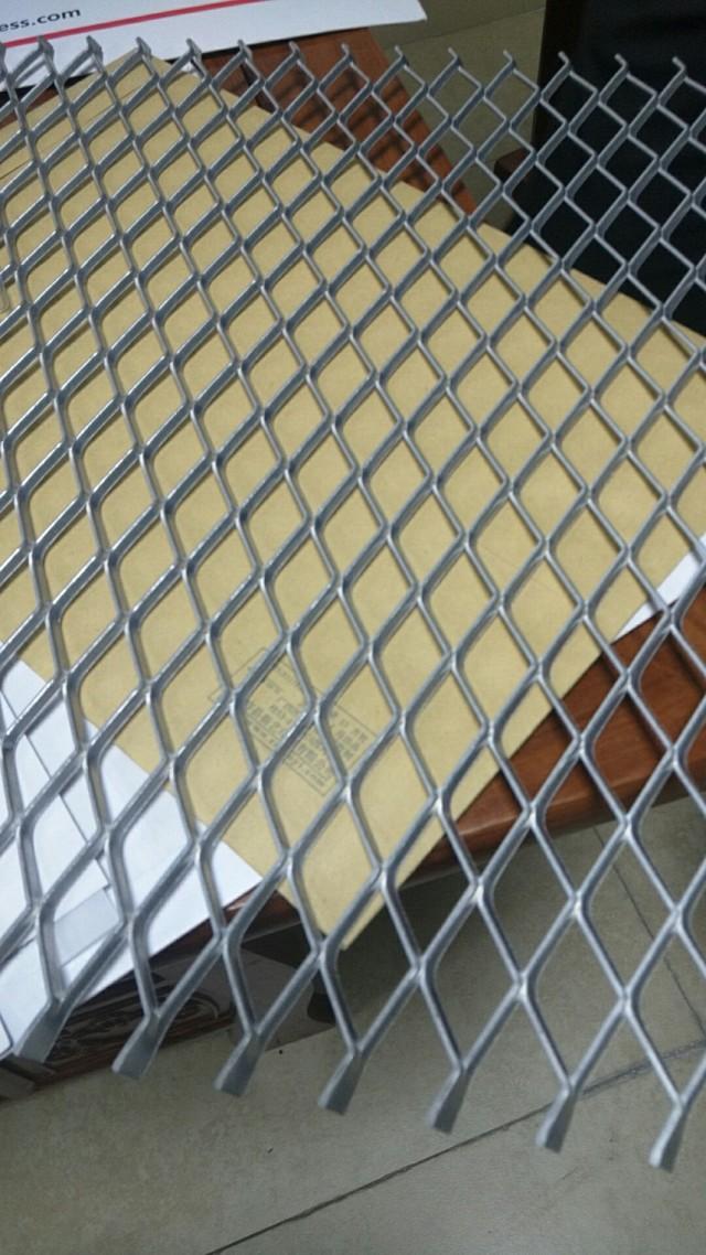 菱形铝拉网板芯材