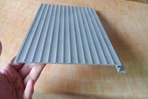 铝合金勾搭波纹板