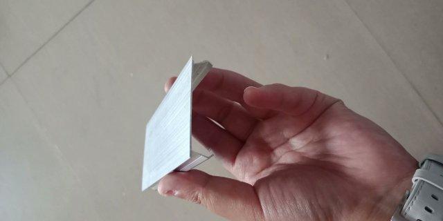 铝型材方通封头盖子