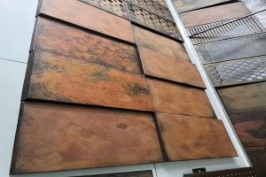 铝单板仿生锈铁板做旧