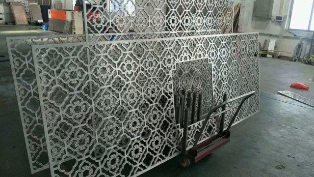 中式压铸铝合金窗花