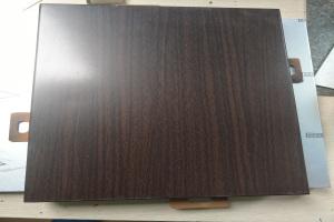 黑胡桃木铝单板