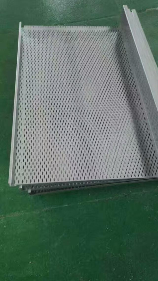 冲眉形孔吊顶勾搭铝单板