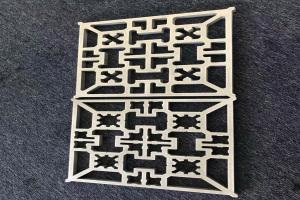 15mm厚激光雕刻铝板