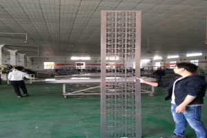 20mm厚铝板雕刻屏风