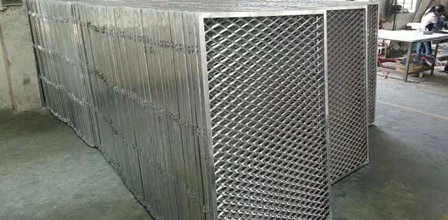 菱形孔铝拉网板坯料