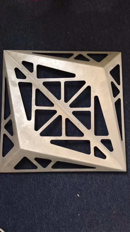 三角形凸出冲孔铝单板