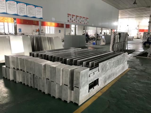 造型铝单板框