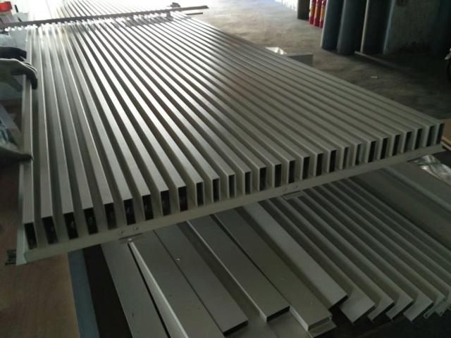 铝方管铆接铝单板组合凹凸长城铝板