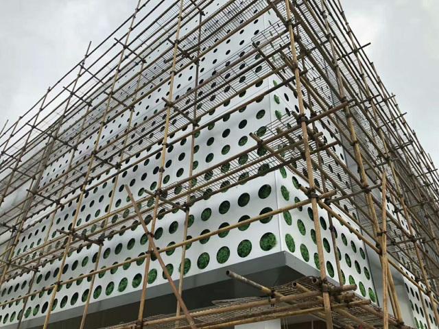 外墙冲超大孔铝单板