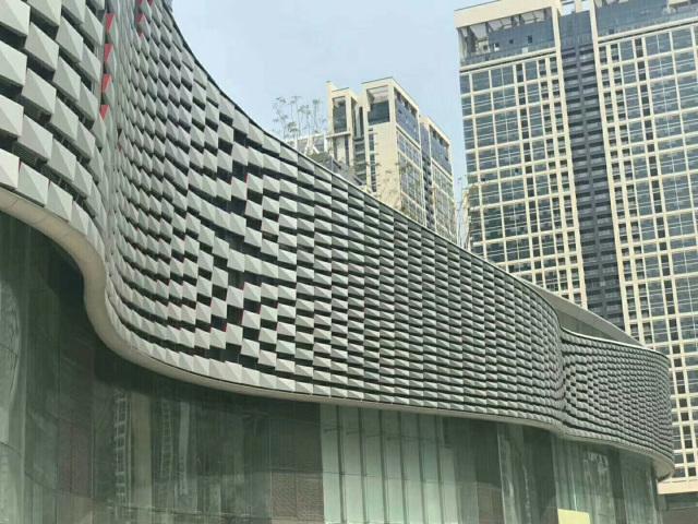 外墙鳞片式挂装铝单板