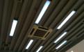 灰色凹凸长城铝单板吊顶
