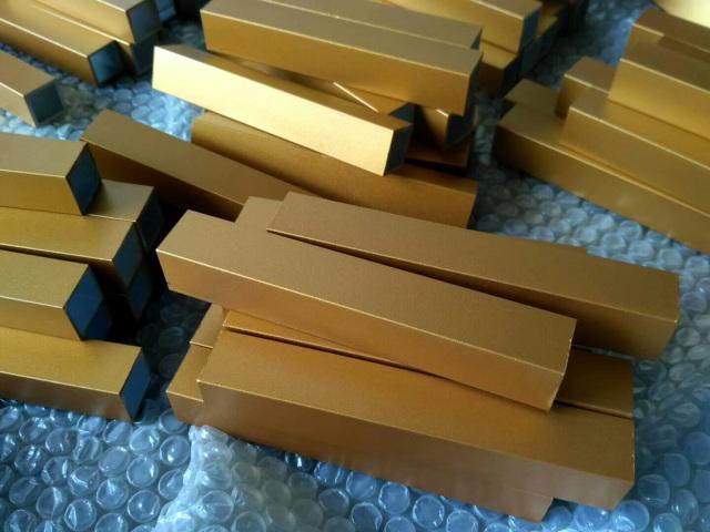 氟碳金色喷涂铝方管