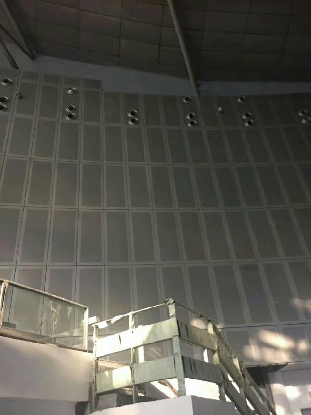 体育馆墙面冲孔吸音铝板