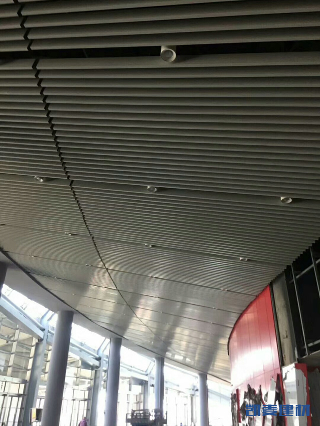体育馆吊顶U形铝方通
