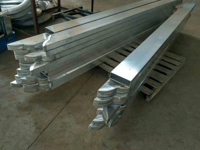 铝合金凉亭别墅凸梁造型焊接铝方管