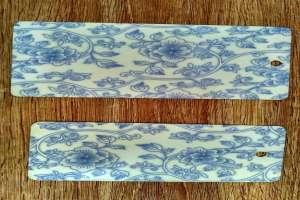 青花瓷纹理热转印铝板