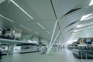 机场铝方通吊顶