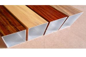 木纹铝型材方管