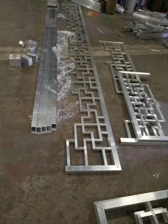 铝合金室内门套屏风
