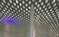深圳机场六边形冲孔铝单板吊顶