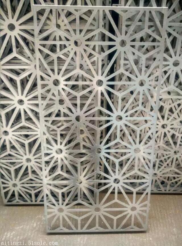 放射形金属雕刻铝单板坯料