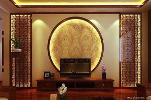 家装大厅对称铝合金装饰花格