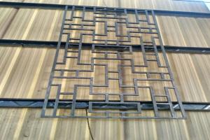 中式古风压铸铝窗花
