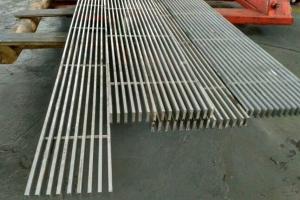 立式铝合金屏风格栅