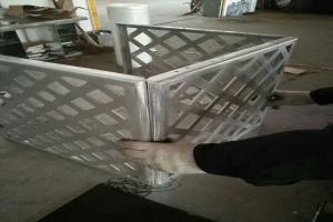可拆卸式组合铝空调罩