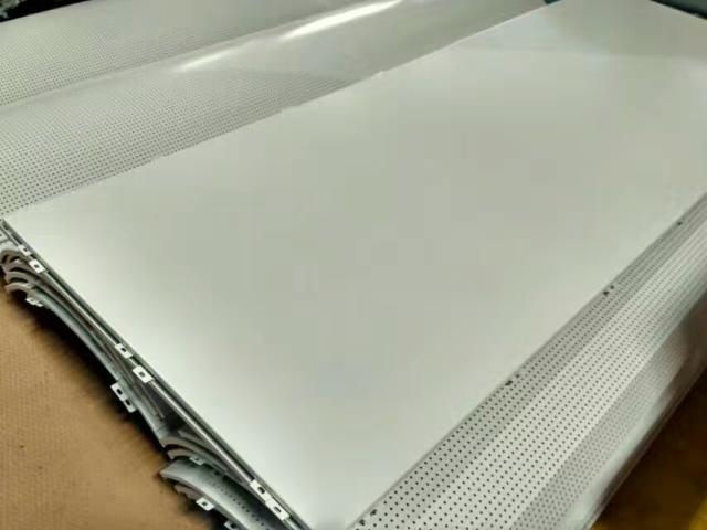 银色平面铝单板