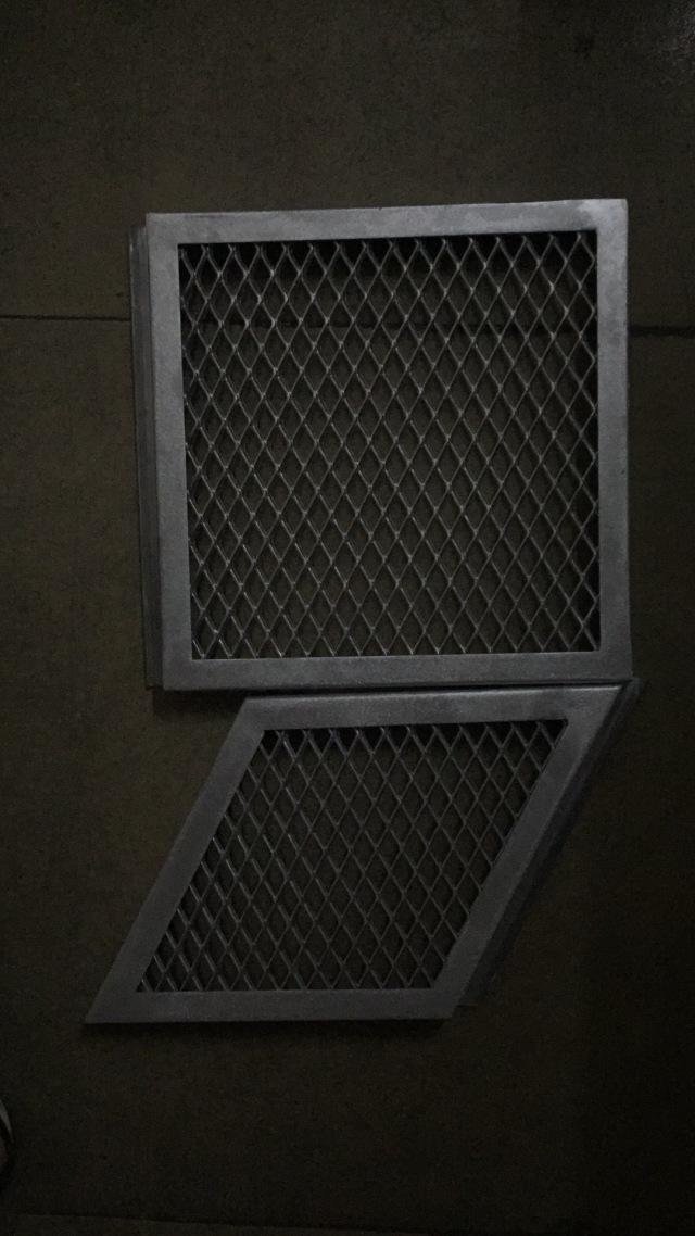 正方形和平行四边形铝拉网板