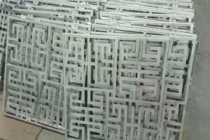 中式古风雕刻铝单板