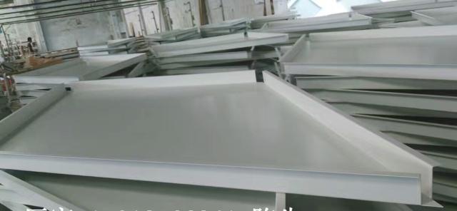 高边菱形吊顶勾搭铝单板