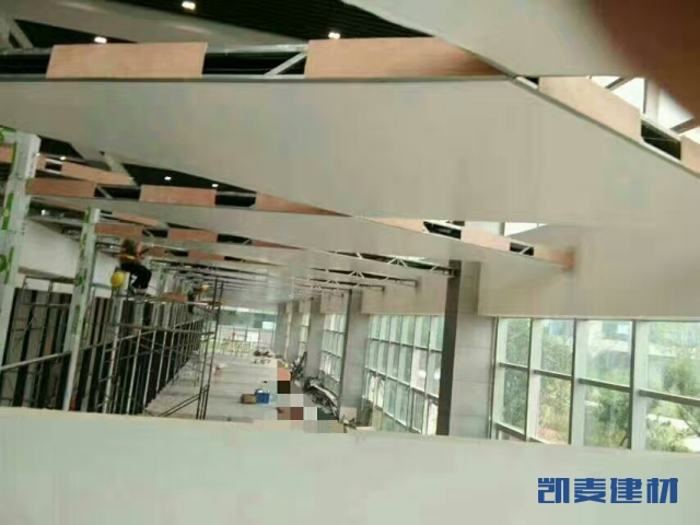 4S店一楼开放式吊顶铝单板