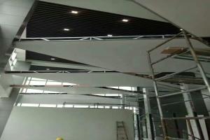 4S店方块式开放吊顶铝单板