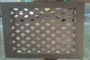 方形孔织网铝单板