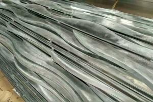 40mm宽波浪造型铝方通