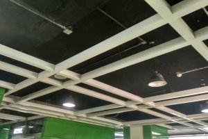 地铁站走廊过道吊顶主龙骨铝型材方通