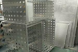 冲圆孔铝合金空调罩坯料