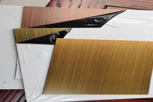 仿黄铜/仿青铜/仿红铜电镀铝板
