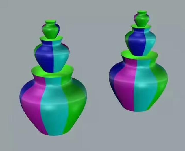 双曲铝合金罐子CAD三维图设计