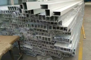 100*60规格的凹槽型材铝方管