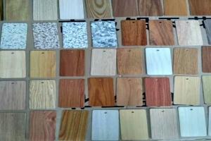 各种颜色石纹木纹铝板